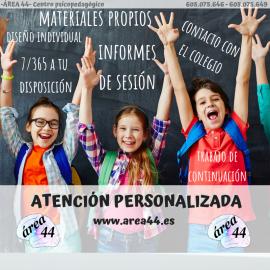 ATENCIÓN PERSONALIZADA