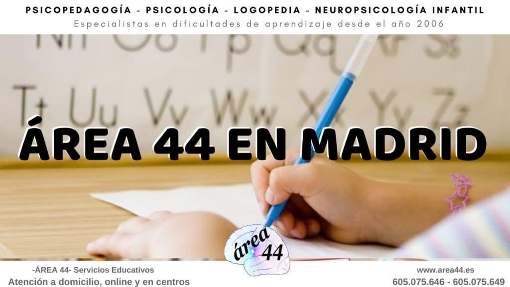 Psicopedagogos en Madrid