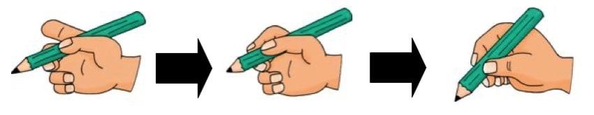 Cómo coger el lápiz