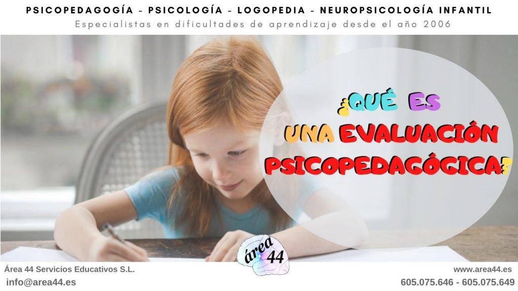 Dónde hacer una evaluación psicopedagógica